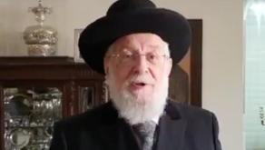 Israel's former chief rabbi Yisrael Meir Lau congratulates UAE on its National Day.
