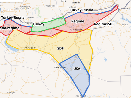 The US Syria withdrawal Oct 6-23: Documents, maps and confusion