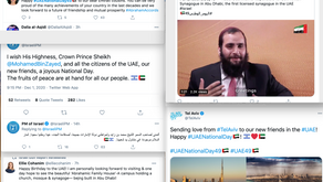 Watch: Jews and Israelis send greetings to UAE for National Day