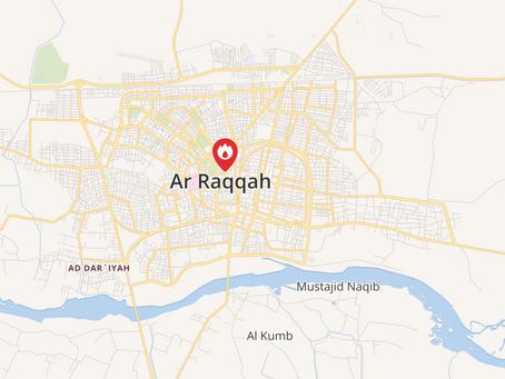 Bombings target Raqqa, near symbolic Naim Square
