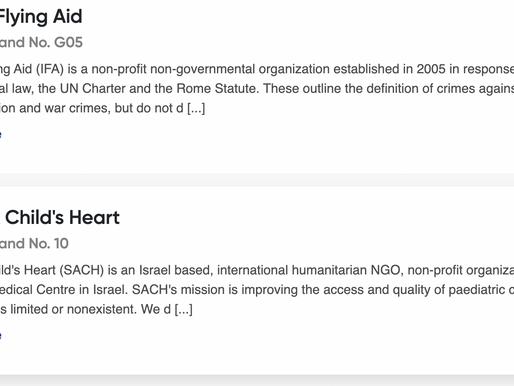 Israel's MASHAV and humanitarian groups attend Dubai's DIHAD