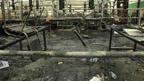 Impact of rockets on Coalition facilities at Erbil International Airport