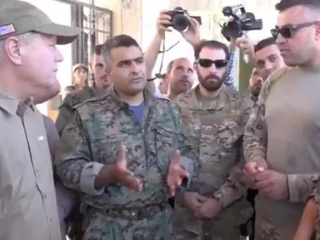 US Senator Lindsey Graham in Manbij and Syria