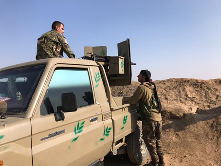 Photos, video and interview on the frontline against ISIS last stronghold
