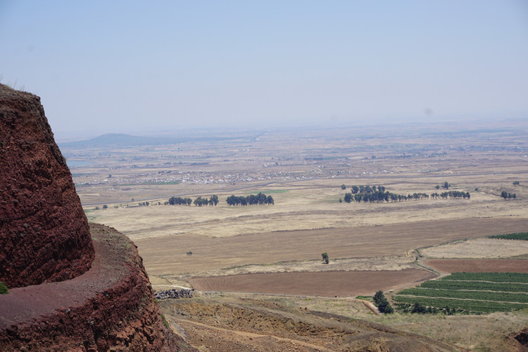 Mount Peres on the Golan