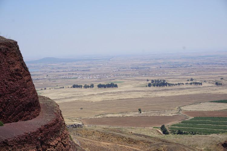 Mount Peres on the Golan