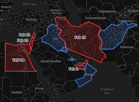 Coronavirus updates Middle East Feb 26 and after