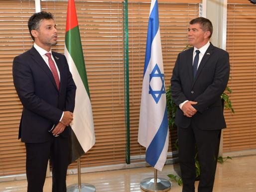 Israel welcomes new UAE ambassador