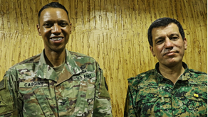 The last mission: Anti-ISIS Coalition spokesperson Col. Caggins say farewell after success