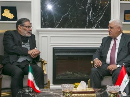 Shamkhani's Iraq visit: Shoring up Tehran's role