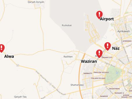 Rockets target Erbil