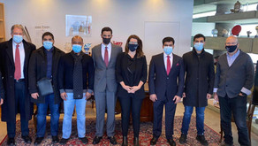 Peres Center for Peace and Innovation hosts UAE delegation