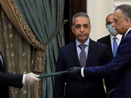 Mustafa Al-Kadhimi, Iraq's new PM-designate
