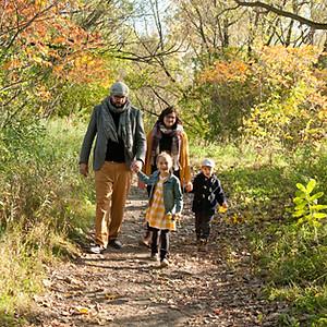 Famille d'automne