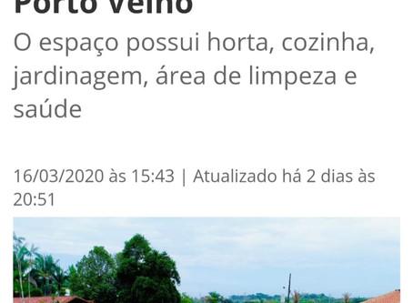 Reportagem no site Portal da Cidade