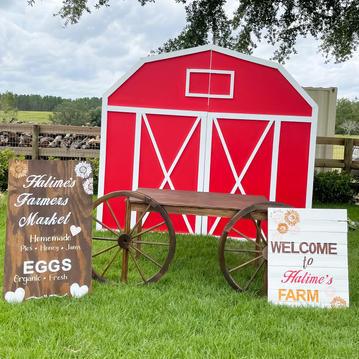 Barn Backdrop - $300