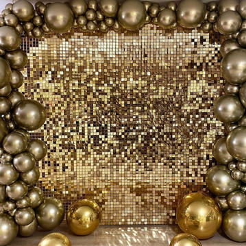 Gold Sequin Wall - $150