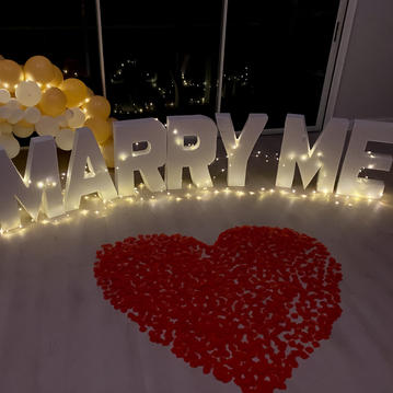 Marry Me Letters - $150