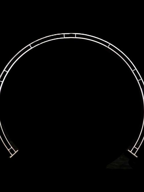 White Circle Arbour