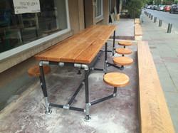 שולחן צינורות