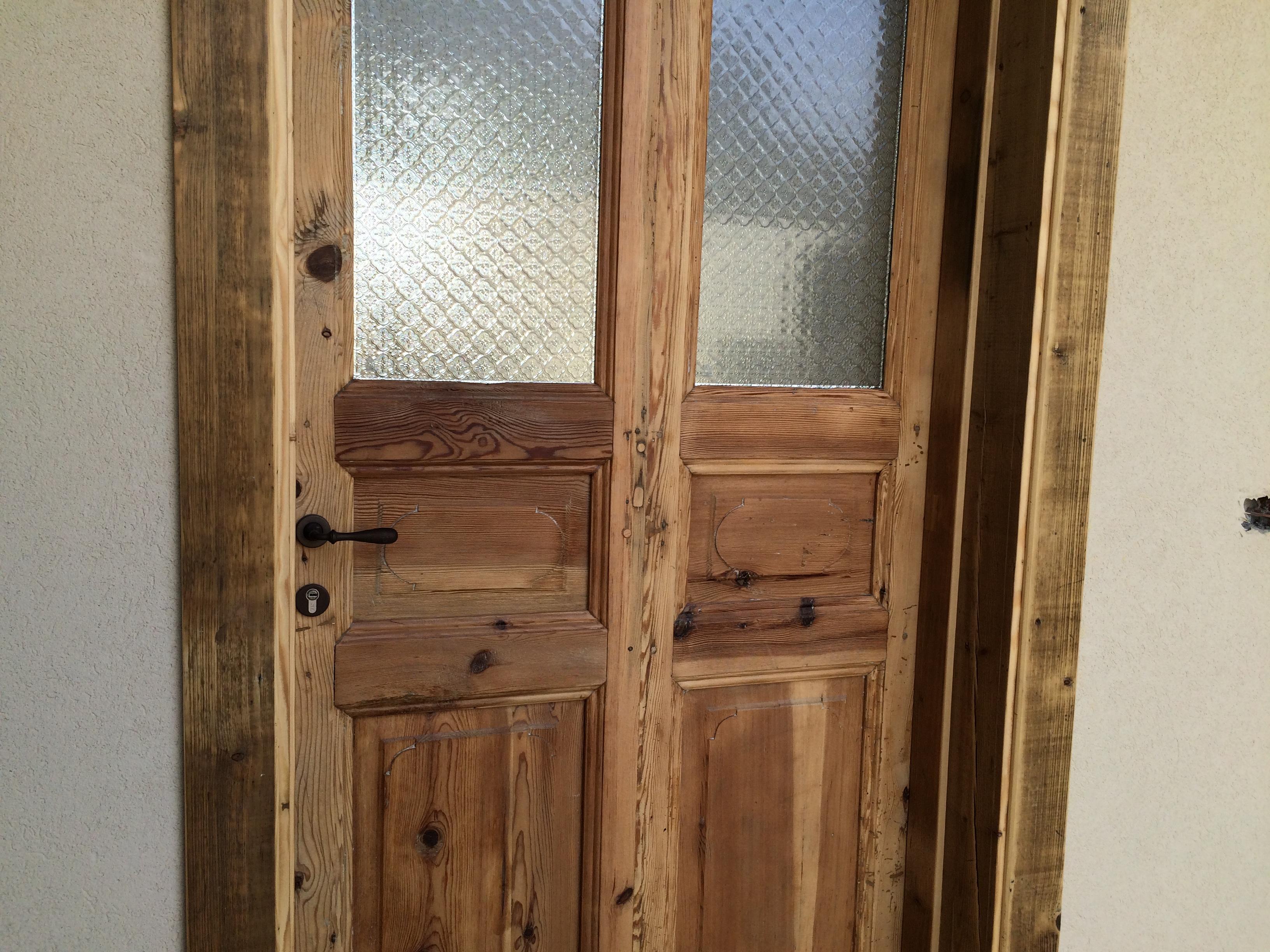 דלת סגנון ישן בית קשת