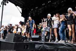 Locales fund raiser festival