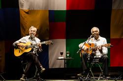 Caetano Veloso and Gilberto Gil