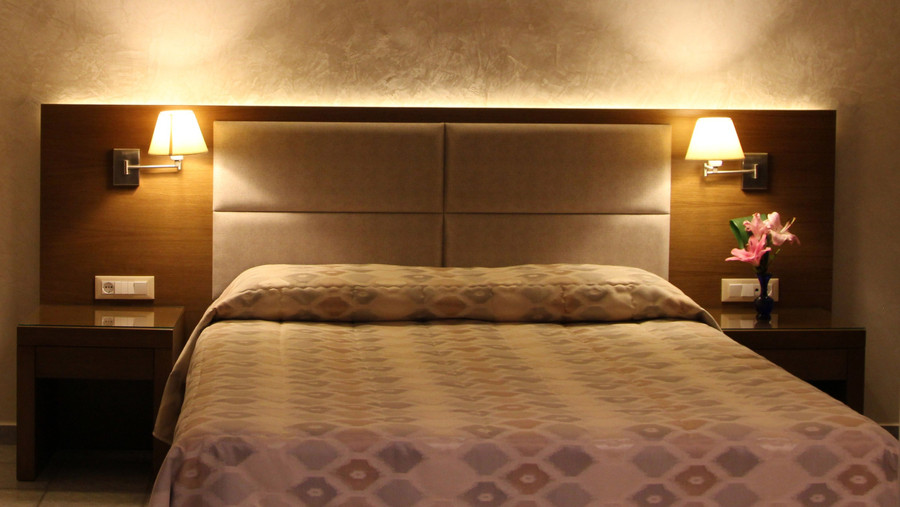 Achilles Hotel Methoni Bedroom