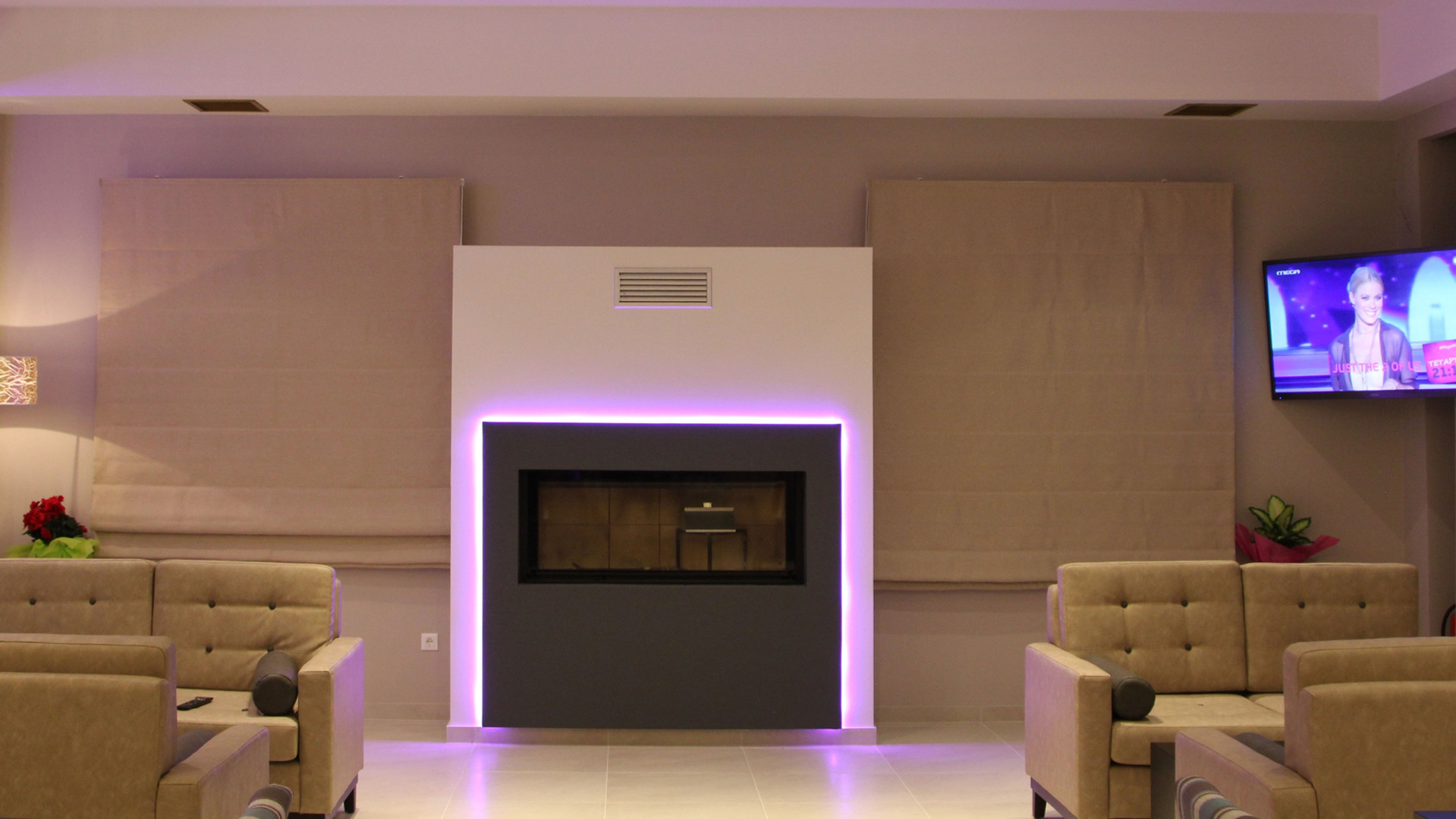 Achilles Hotel Methoni Lounge