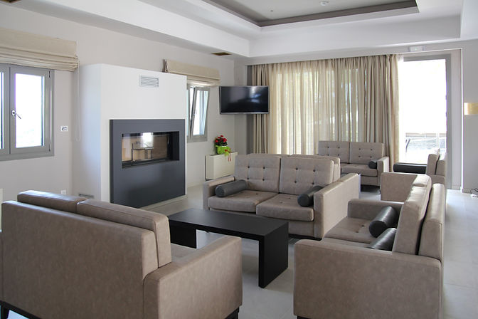 Achilles Hotel Methoni Living Room