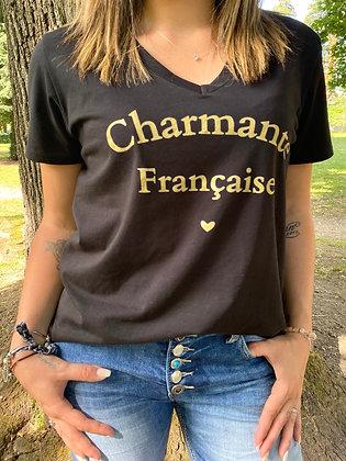 Tee shirt CHARMANTE noir