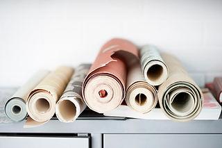 Rollos de papel pintado