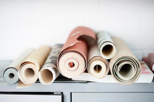 Rollen van Wallpaper