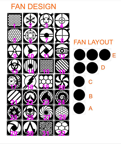 Select your Fan Grill / Design