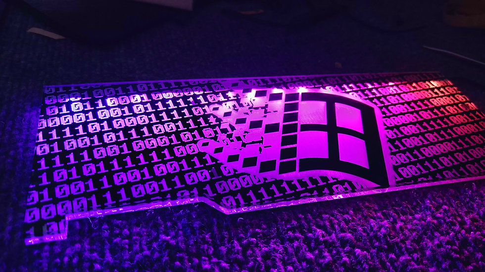 Windows RGB Backplate