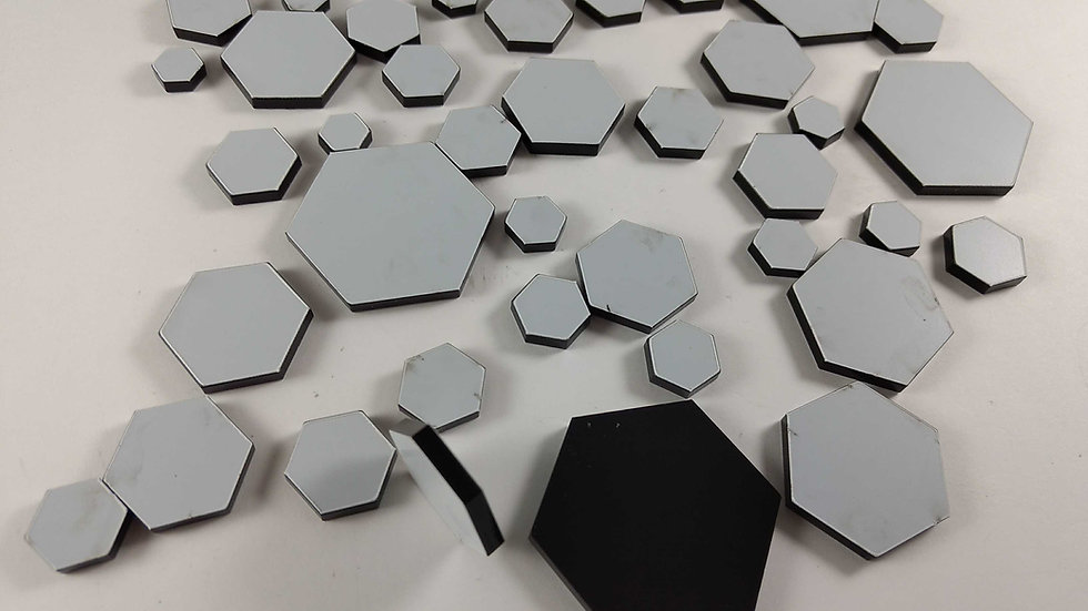 Random acrylic hexagon  case modding etc