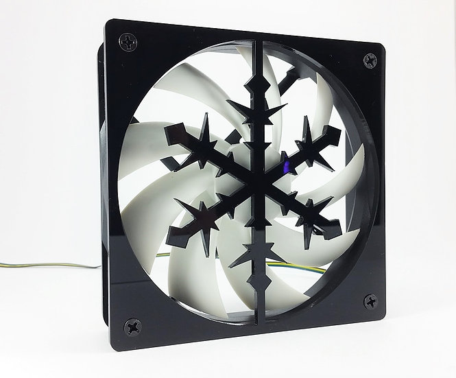 snowflake theme 120mm or 140mm  Fan Grill