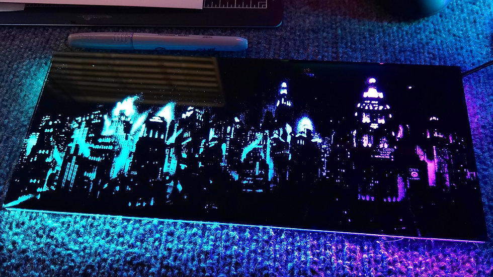 City Scape RGB Backplate.