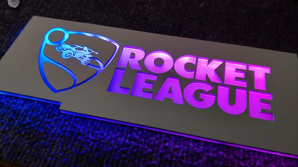 Rocket League RGB Backplate