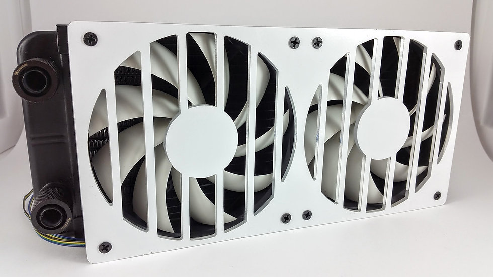 240mm bar design fan grill