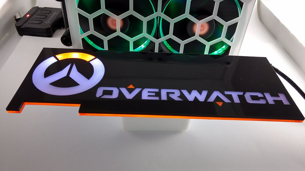 Overwatch Themed RGB Backplate