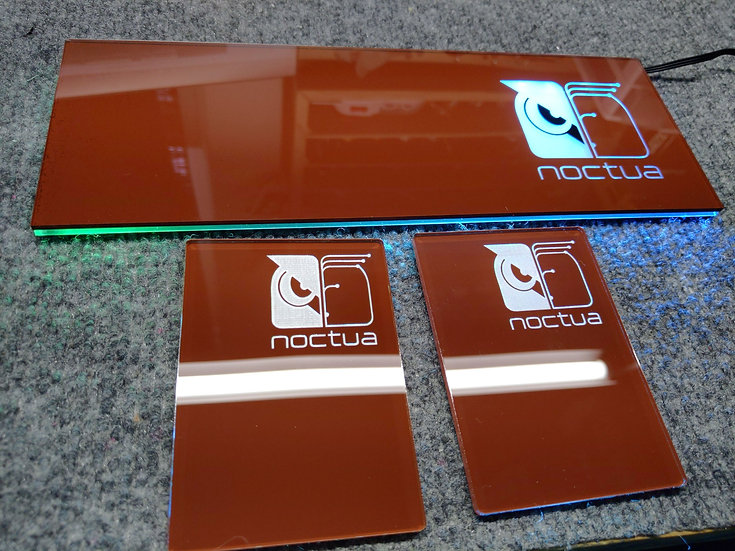 Noctua Themed RGB Backplate only