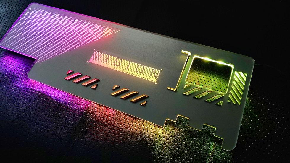 Gigabyte Vison RGB Backplate Themed RGB Backplate