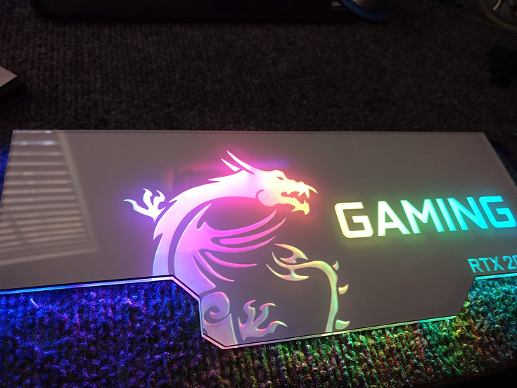 MSI Gaming RGB Backplate