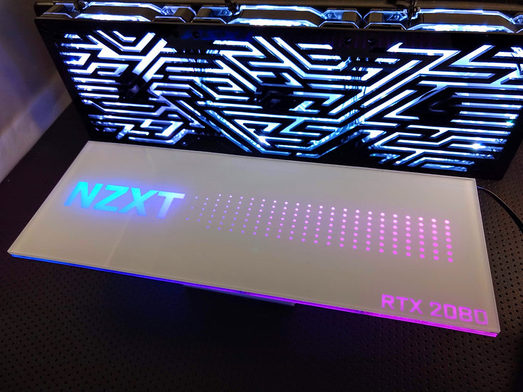 NZXT Themed RGB Backplate