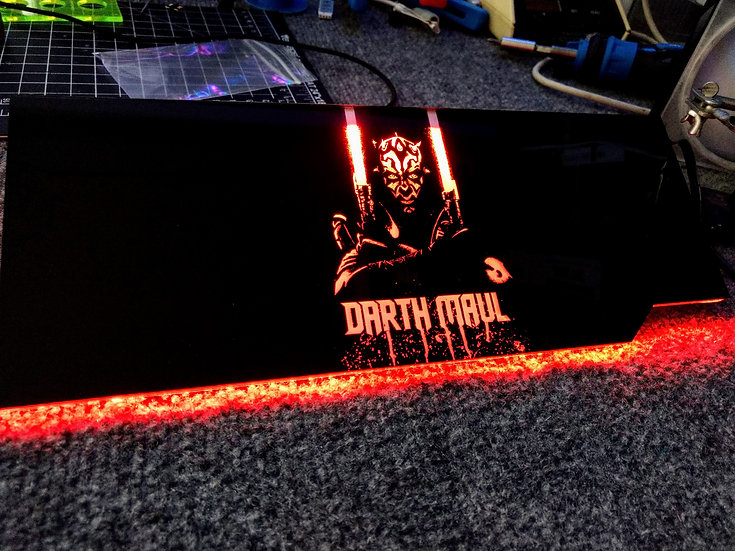 Darth Maul RGB Backplate
