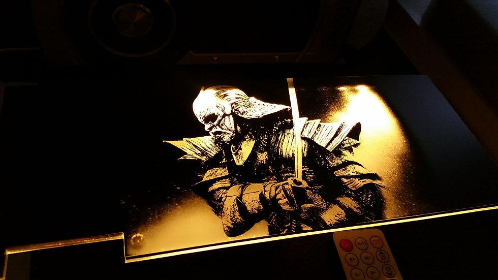 47 Ronin Samurai  Themed RGB Backplate