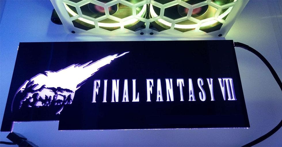 Final Fantasy Themed RGB Backplate