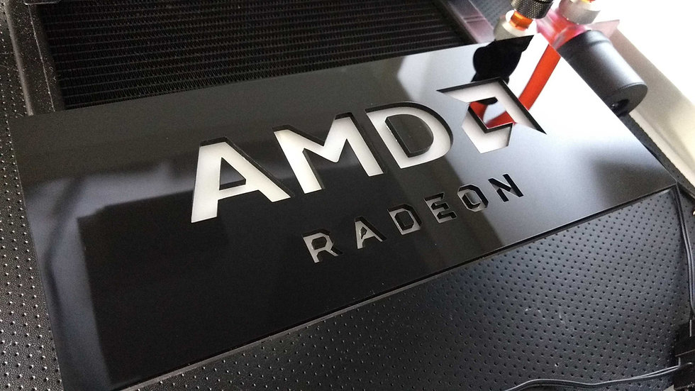 AMD RADEON Cover Plate