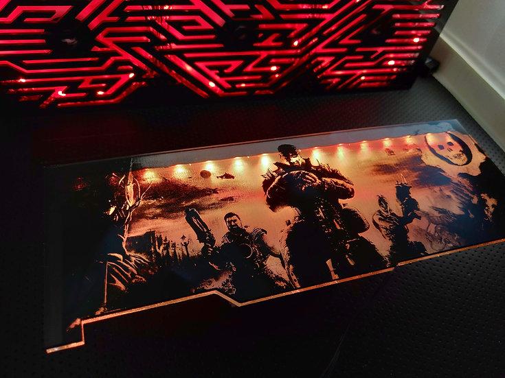 Gears  Themed RGB Backplate